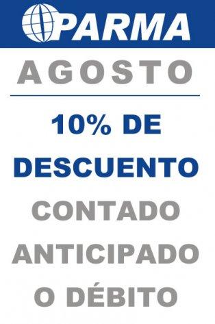 Promo Agosto 10%