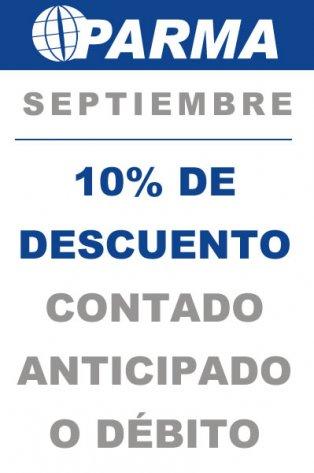 Promo Septiembre 10%