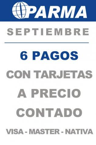 Promo Septiembre 6 pagos