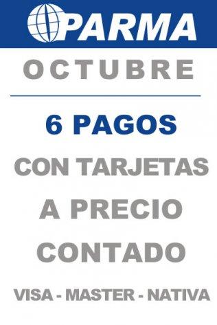 Promo Octubre 6 pagos