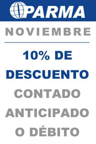 Promo Noviembre 10%